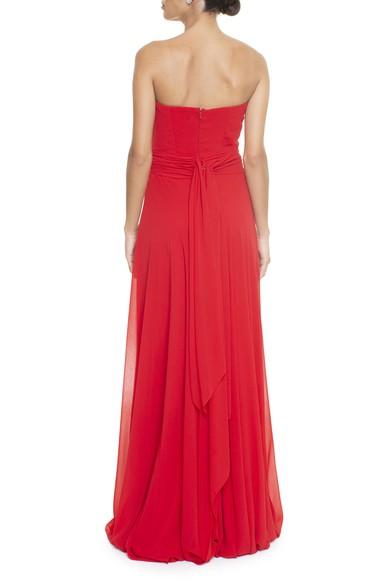 Vestido Loppi Red Basic Collection