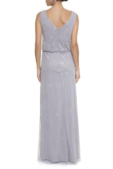 Vestido Loved Gray Adrianna Papell