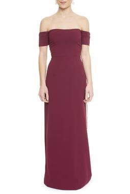 Vestido Luv Marsala - DG13164