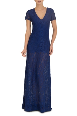 Vestido Magda Blue
