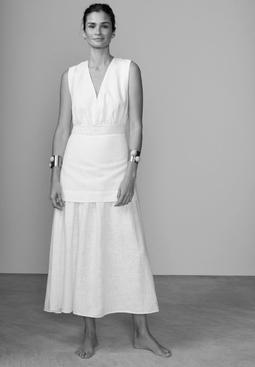 Vestido Mahavira - Off White  USTL