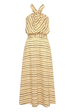 Vestido Mares Curuzu - Amarelo e Preto USTL