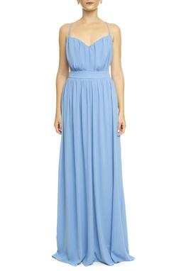 Vestido Margareta Blue