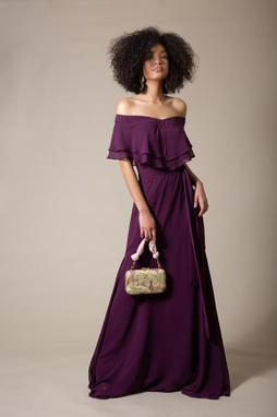 Vestido Mariangel Roxo
