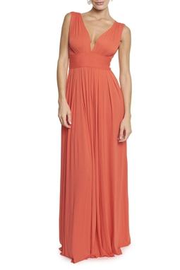 Vestido Marieta orange