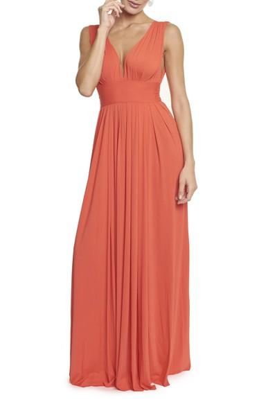 Vestido Marieta orange - DG13571 Anamaria Couture