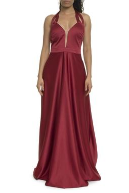 Vestido Marsala - DG17926