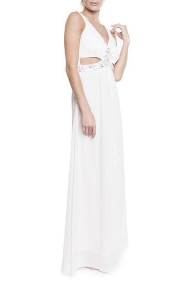 Vestido Matira White Camila de Zorzi