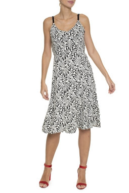 Vestido Midi Abertura Costas - DG16713