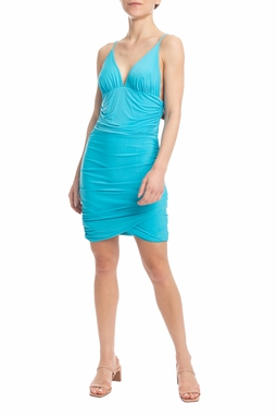 Vestido Midi Azul Serenity - DG18287