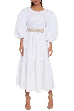 Vestido Midi Decote Costas - 140173