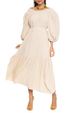 Vestido Midi Decote Costas - 140219