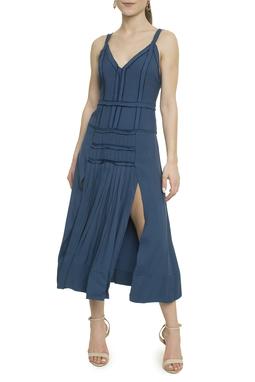 Vestido Midi Fendas - DG18106
