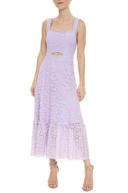 Vestido Midi Lilás - DG15918