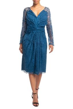 Vestido Midi ML Azul HM - DG18784