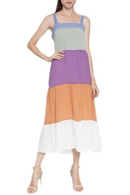 Vestido Midi Multicolor - DG15875