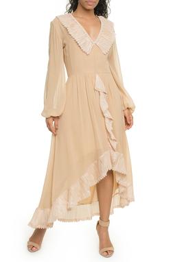 Vestido Midi Nude - DG17944