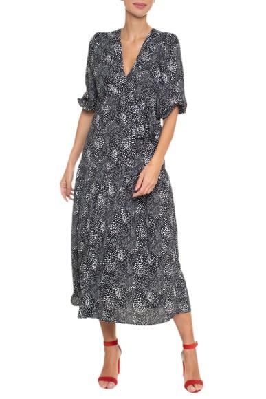 Vestido Midi Transpassado - DG16602 Curadoria Dress & Go