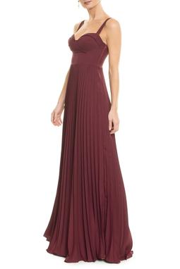 Vestido Millie Marsala - DG13398