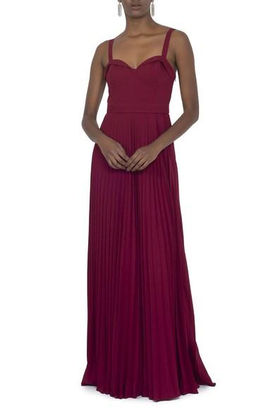 Vestido Millie Wine Carpe