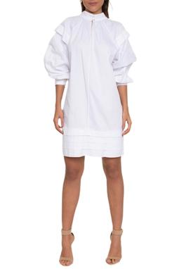 Vestido Mini Pregas Horizon - NX1715