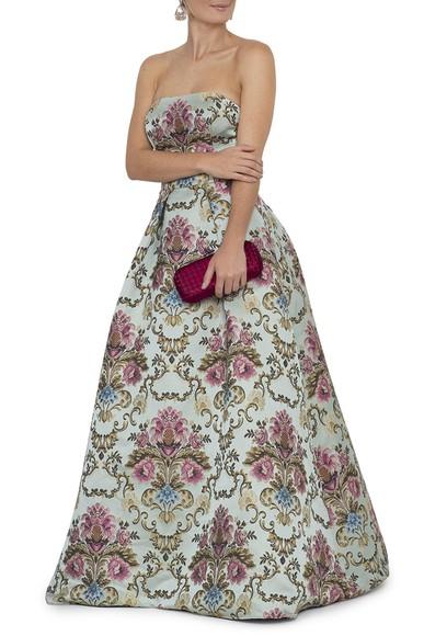 Vestido Miran Jacquard Mares