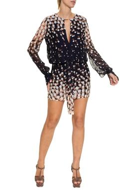 Vestido Nana Estampa Ball - DG16418