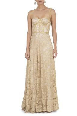 Vestido Nayla Gold - DG14195