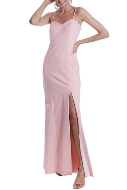 Vestido Nicole Rosa CLM