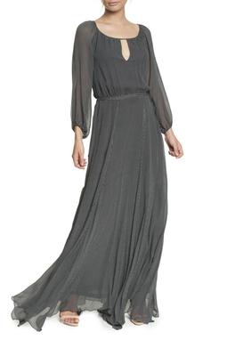 Vestido Noite Pois - DG17084