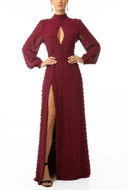 Vestido Nune Marsala - DG13913
