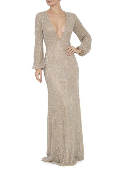 Vestido Nuri Silver Prime Collection