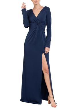 Vestido Odete Dark Blue