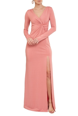 Vestido Odete Rose - DG17115