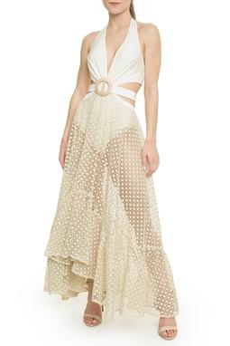 Vestido Off White - DG18095