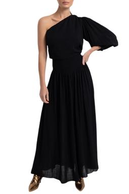 Vestido Oli Longo Um ombro - DG16983