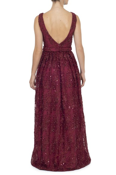 Vestido Olita Marsala Essential Collection