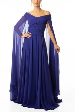 Vestido Olympia Blue
