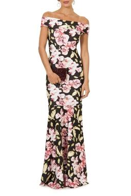 Vestido Orqui Ombro - DG13253