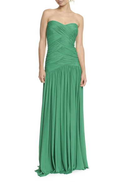 Vestido Padma Green Anamaria Couture