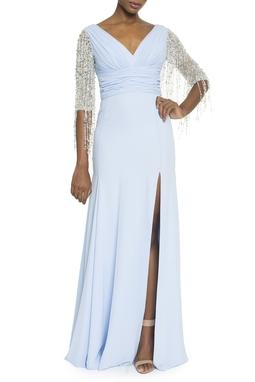 Vestido Palazio Azul Fenda