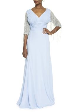 Vestido Palazio Azul - DG13904