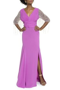 Vestido Palazio Rosa Fenda -DG13652