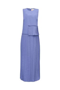 Vestido Paola Aluf Azul