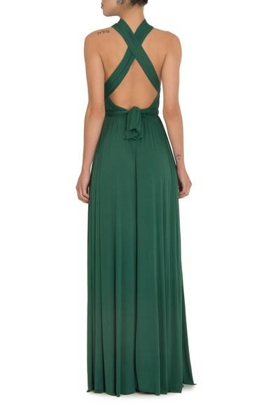Vestido Patil Green Anamaria Couture