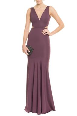Vestido Pequi Purpura - DG14193