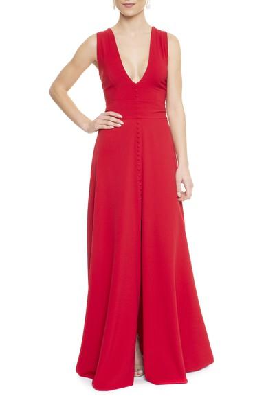 Vestido Pessego Red Carpe
