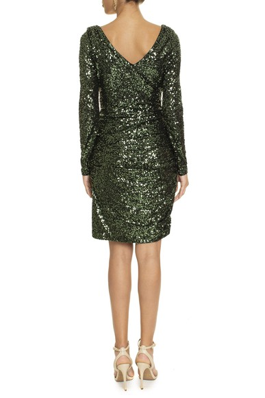 Vestido Piangi Green Badgley Mischka