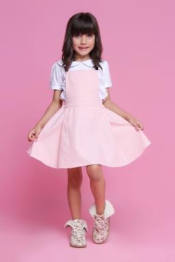 Vestido Pietra Rosa Bebê