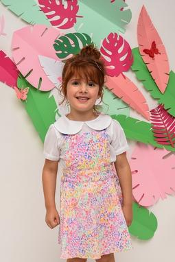Vestido Pietra Summer Blessed Estampa Confete
